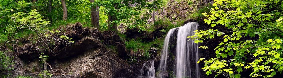 Der Romkerhaller Wasserfall