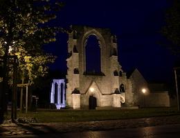 Kloster Walkenried bei Nacht